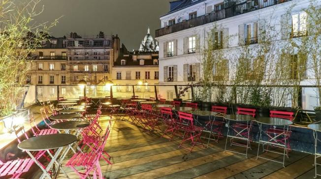 Le Bar-Restaurant le Floors à Paris 18 - Le rooftop