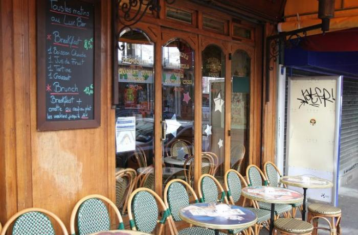 Le Bar-Pub le Lux Bar à Paris 18 - La terrasse