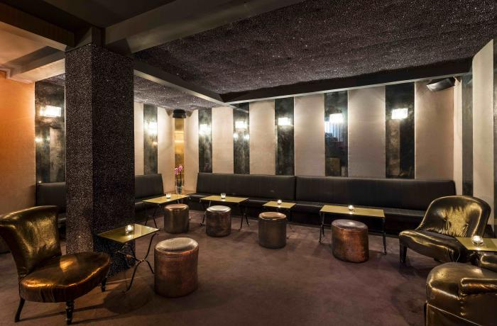 Le Bar à cocktails le Karma Bar à Paris 17 - La décoration
