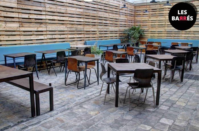 Exceptionnel Restaurant Le Café Caché à Paris - Réserver avec LesBarrés CZ39