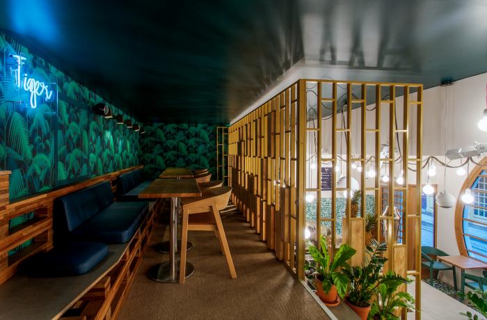 Le Bar à gin le Tiger à Paris 6 - La mezzanine
