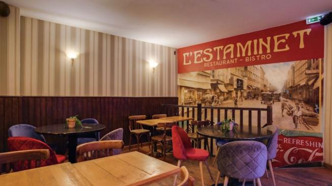 Le Bar-Restaurant l'Estaminet à Paris 11 - l'étage