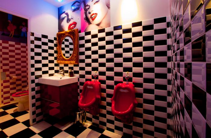 Le Bar-Pub le Marilyn à Paris 11 - Les Toilettes