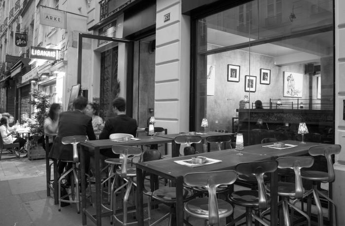 Le Bar-Restaurant le 153 à Paris 4 - La terrasse