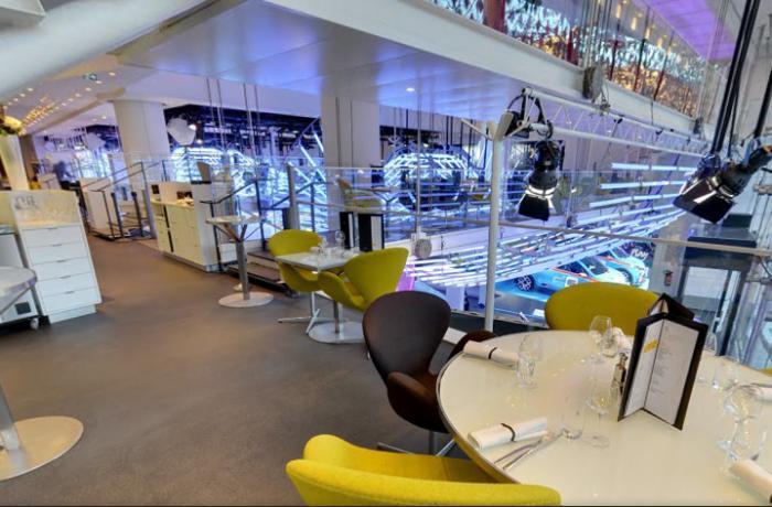 Le Restaurant l'Atelier Renault Café à Paris 8 - Le restaurant
