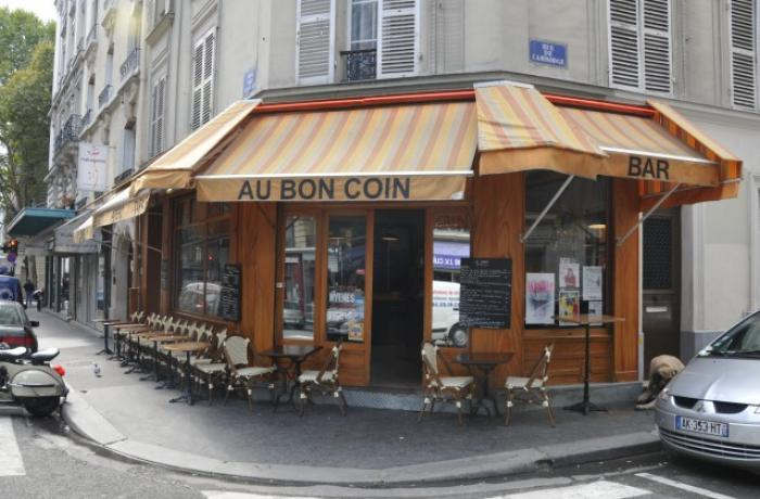 Le Bar le Au Bon Coin à Paris 20 - La devanture