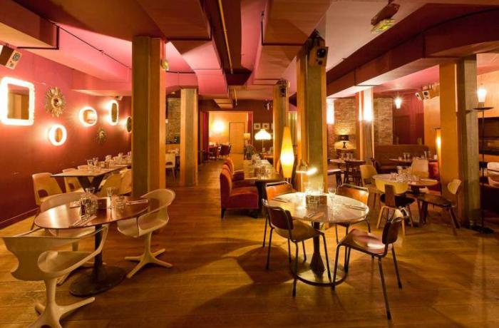 Le Bar-Restaurnat le Bliss à Paris 1 - La grande salle