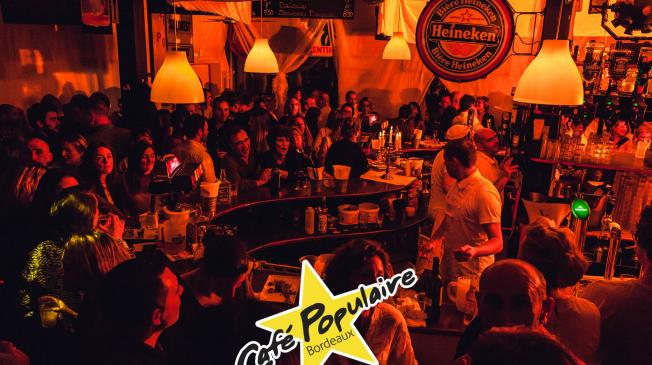 Le Bar-Restaurant - Le Café Populaire - Bar à Bordeaux - Le Bar