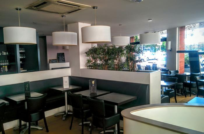 Le Bar-Restaurant le Papagayo à Toulouse - Le coin assis du RDC