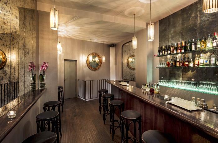 Le Bar à cocktails le Karma Bar à Paris 17 - Le rez-de-chaussée