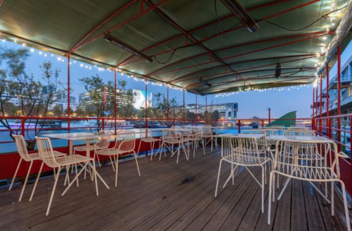 Restaurant jardin sauvage paris r server avec lesbarr s - Terrasse jardin resto paris toulouse ...