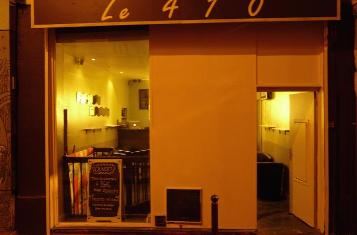 Le Bar-Pub le 410 à Paris 11 - La façade