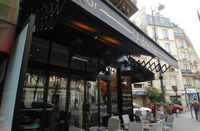 Le Bar l'Adresse à Paris 3 - La devanture