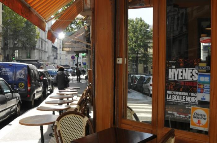 Le Bar le Au Bon Coin à Paris 20 - L'Entrée