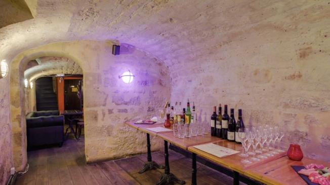 Le Bar-Restaurant l'Estaminet à Paris 11 - La cave