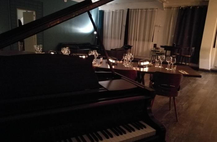 Le loft Piano à Paris 11 - Le piano