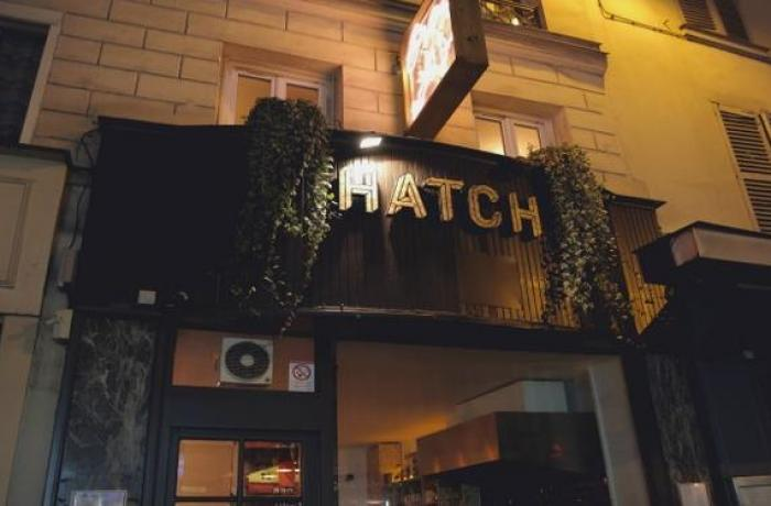 Le restaurant le Hatch à Paris 9 - La devanture