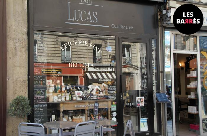 Le Bar-Restaurant le Don Lucas à Paris 5 - L'Enseigne