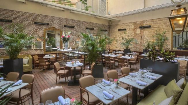 réserver le restaurant le patio à paris opéra