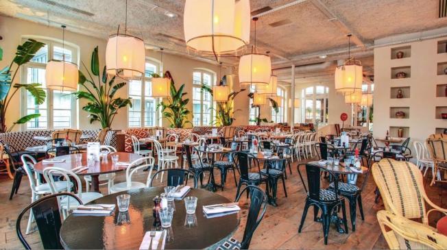 Le Bar-Restaurant la Brasserie Auteuil à Paris 16 - Le restaurant